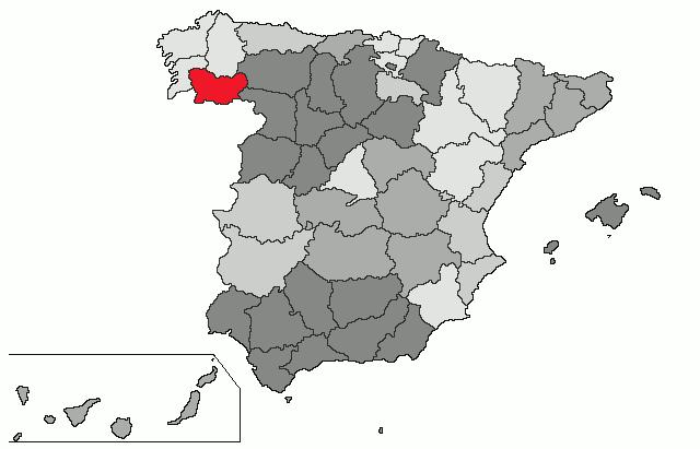 ourense espanha mapa Ourense (província) – Wikipédia, a enciclopédia livre ourense espanha mapa
