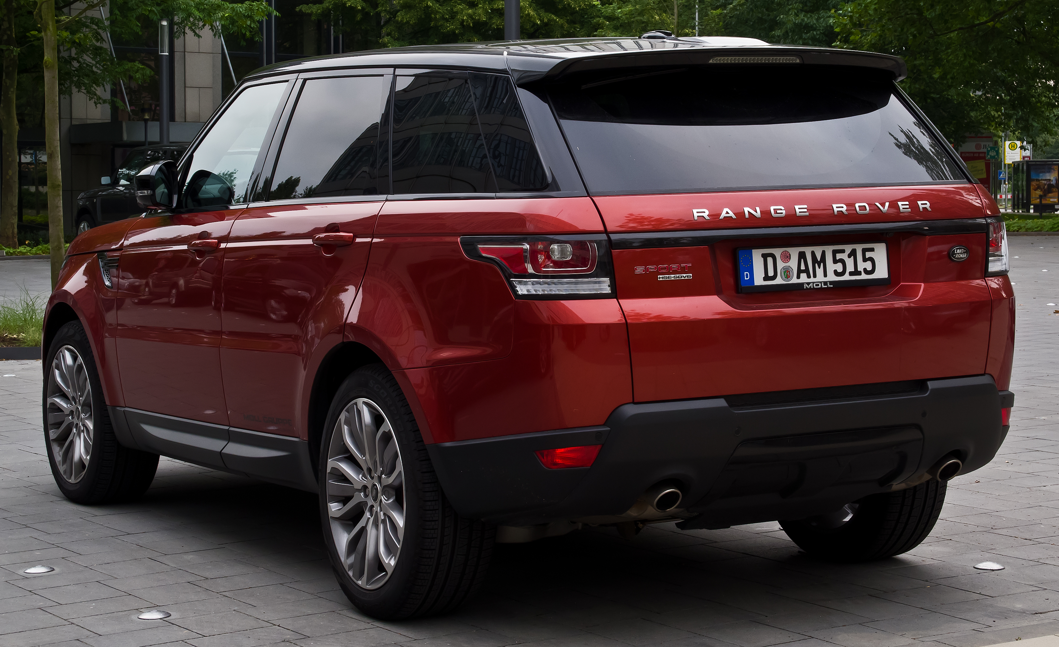 file range rover sport sdv6 hse ii heckansicht 12 juli 2014 d wikimedia. Black Bedroom Furniture Sets. Home Design Ideas