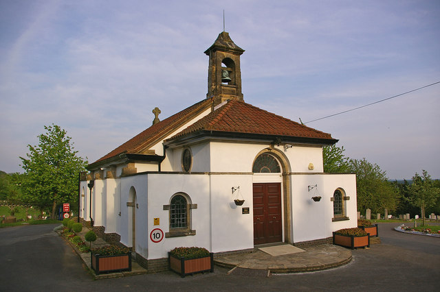 Redstone Cemetery Chapel - geograph.org.uk - 1105253