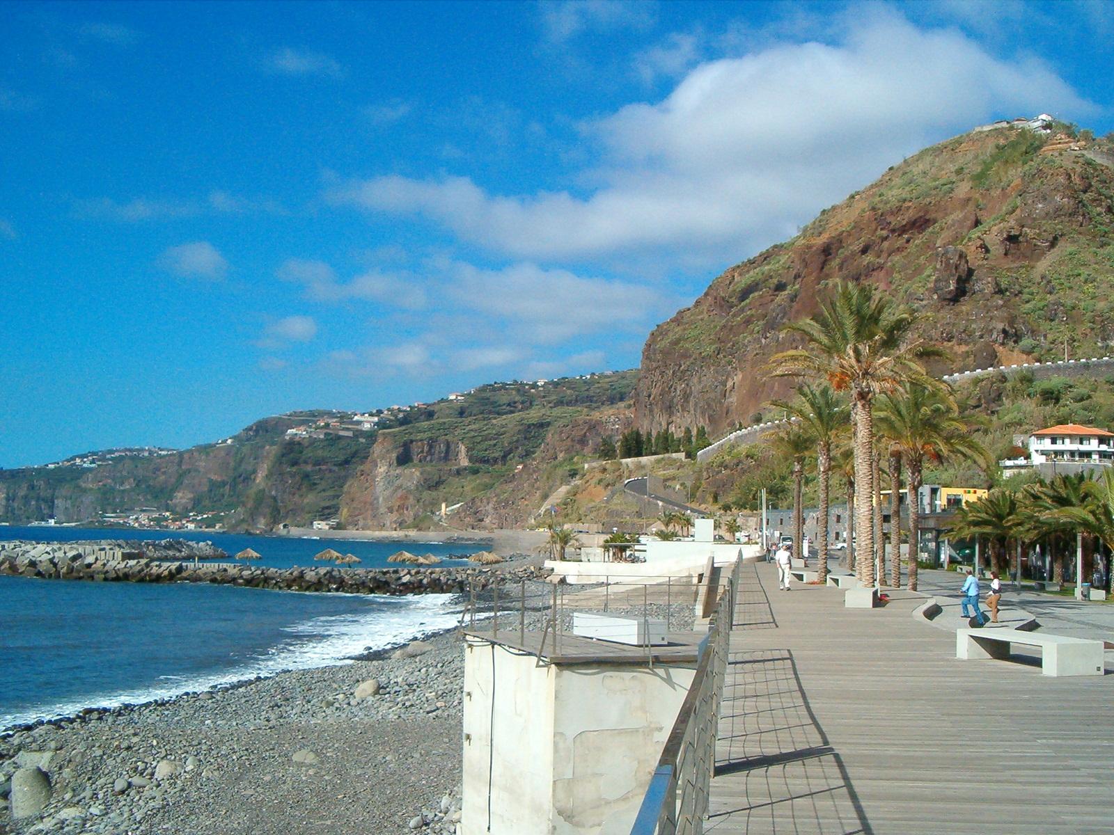 Madeira Südwestküste Küstenort
