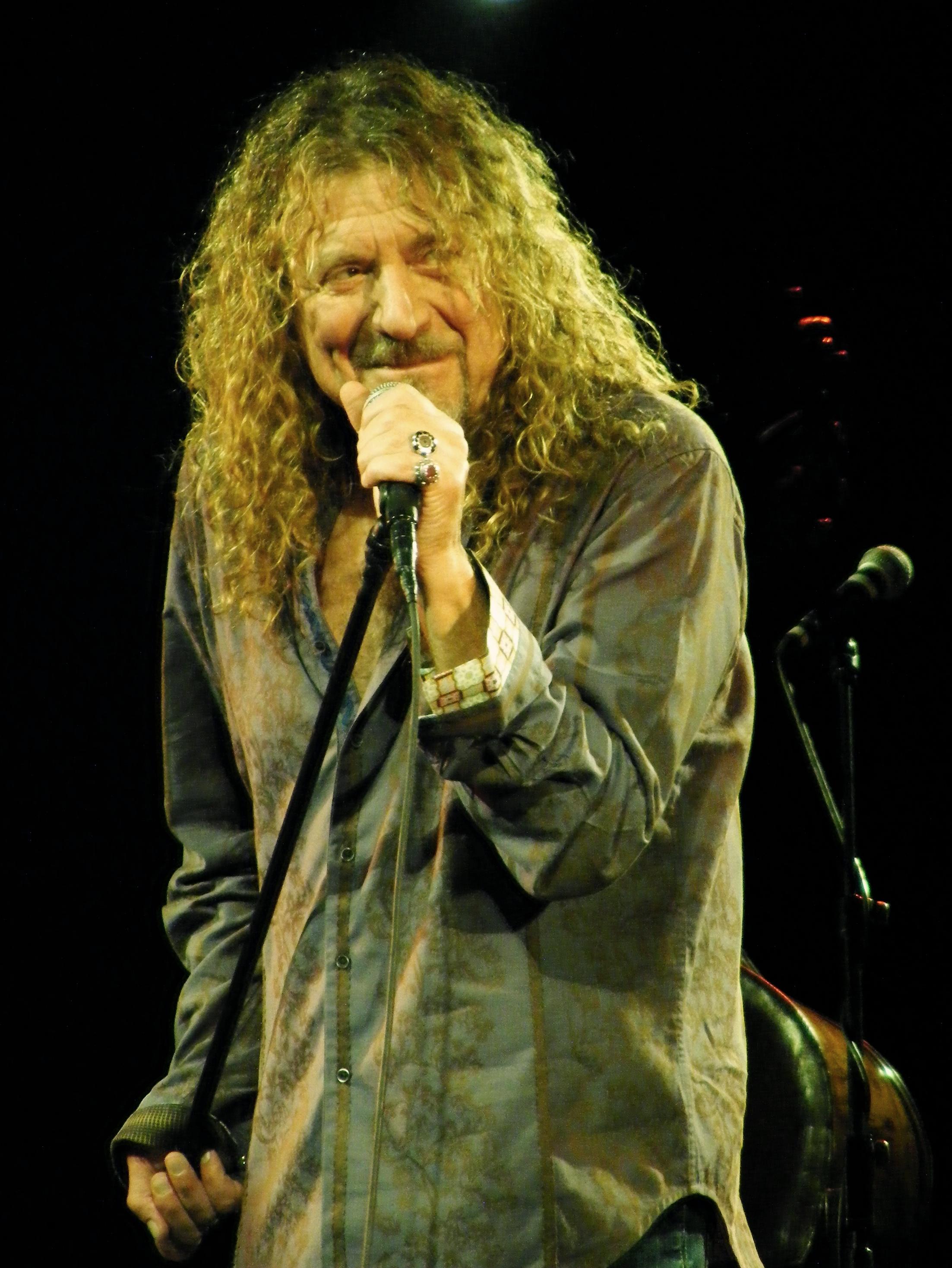 Depiction of Robert Plant