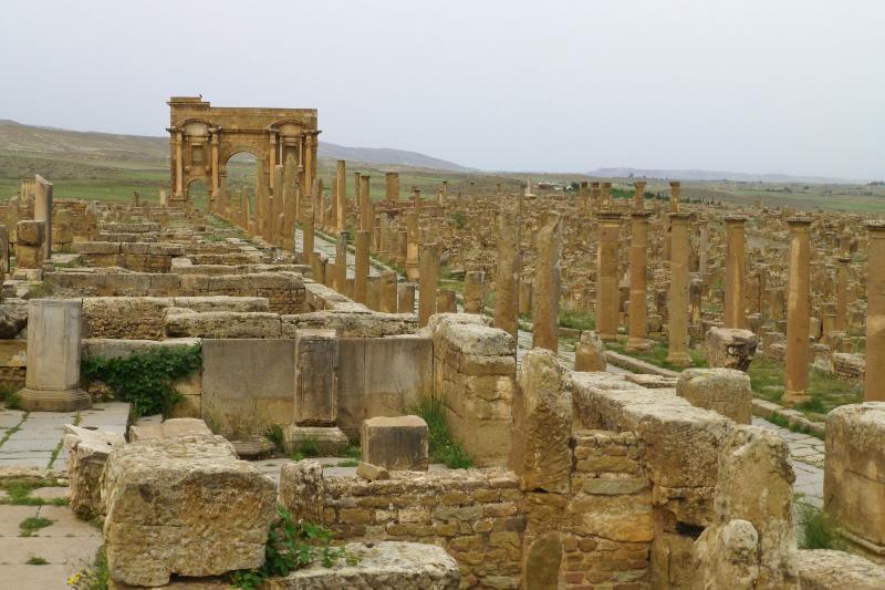 Timgad - Wikipedia