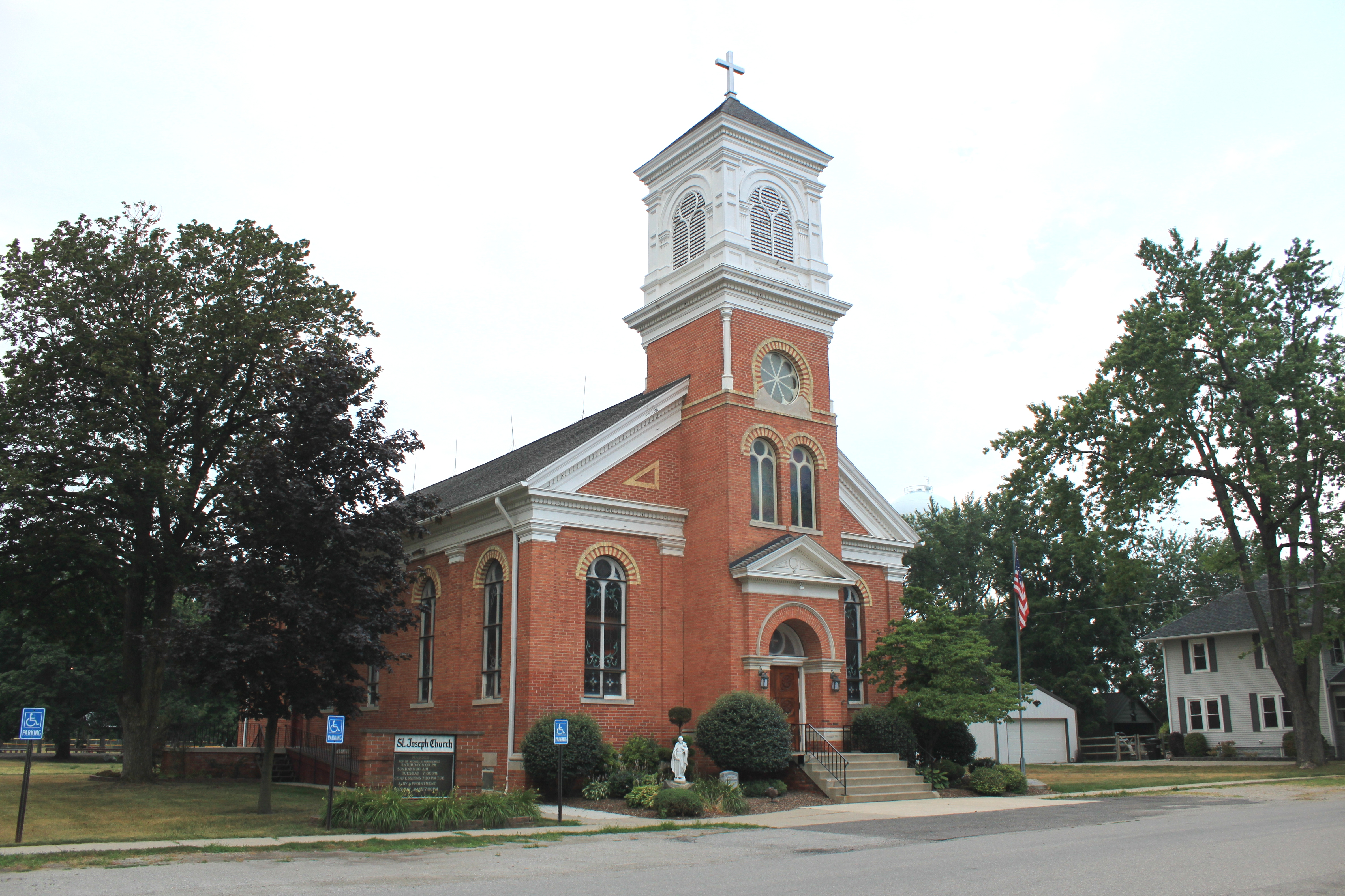 File:Saint Joseph Catholic Church Ida Michigan JPG