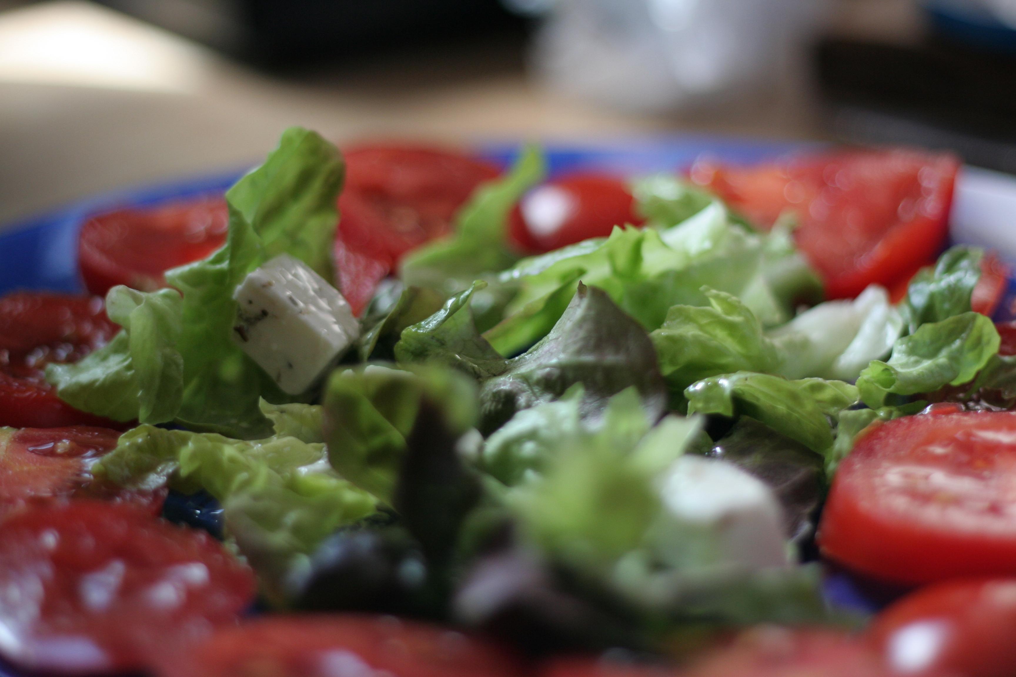 Salade de tomates & feta