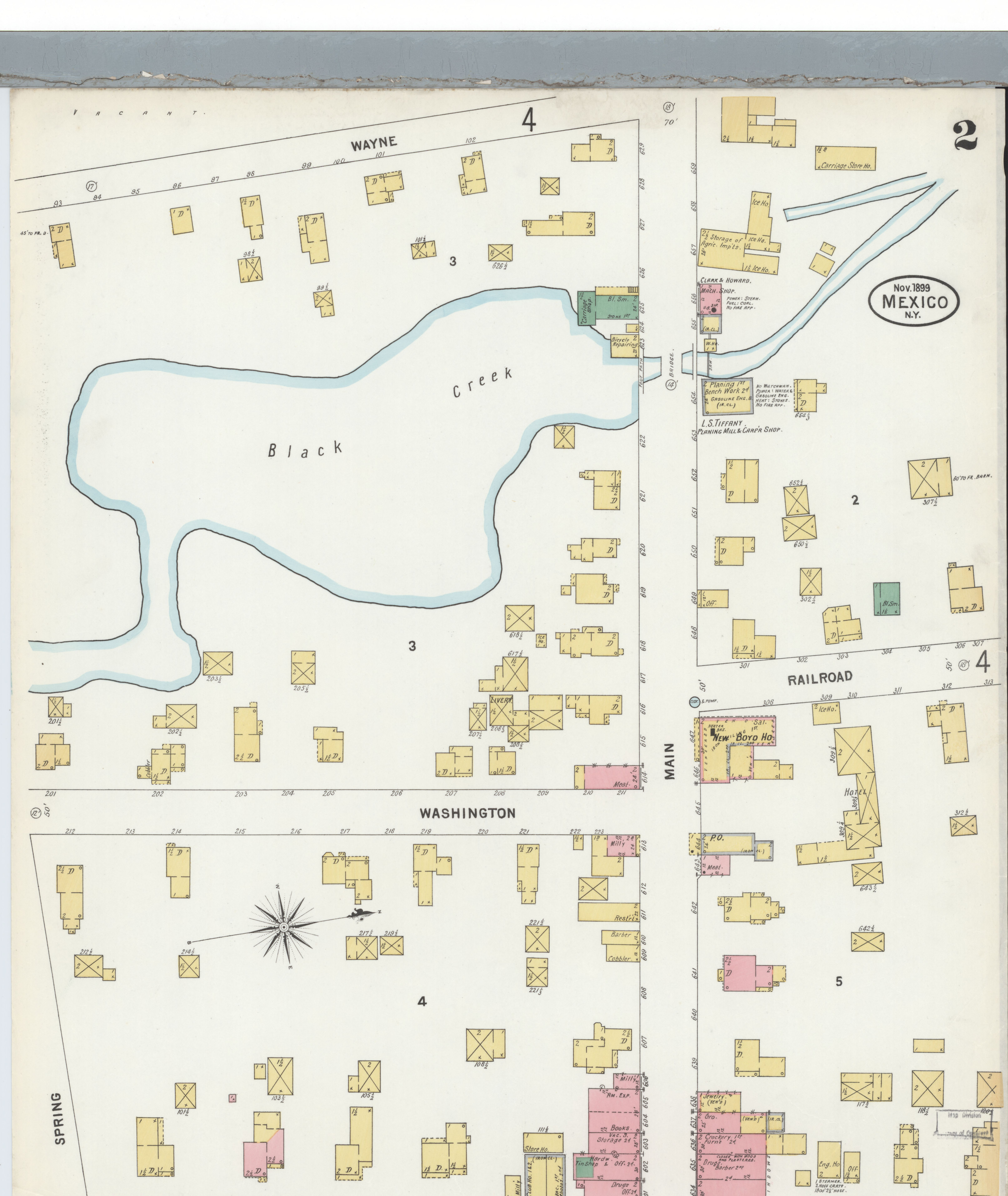 Map Of New York Oswego.File Sanborn Fire Insurance Map From Mexico Oswego County New York