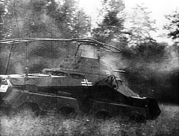 German Recon vehicle