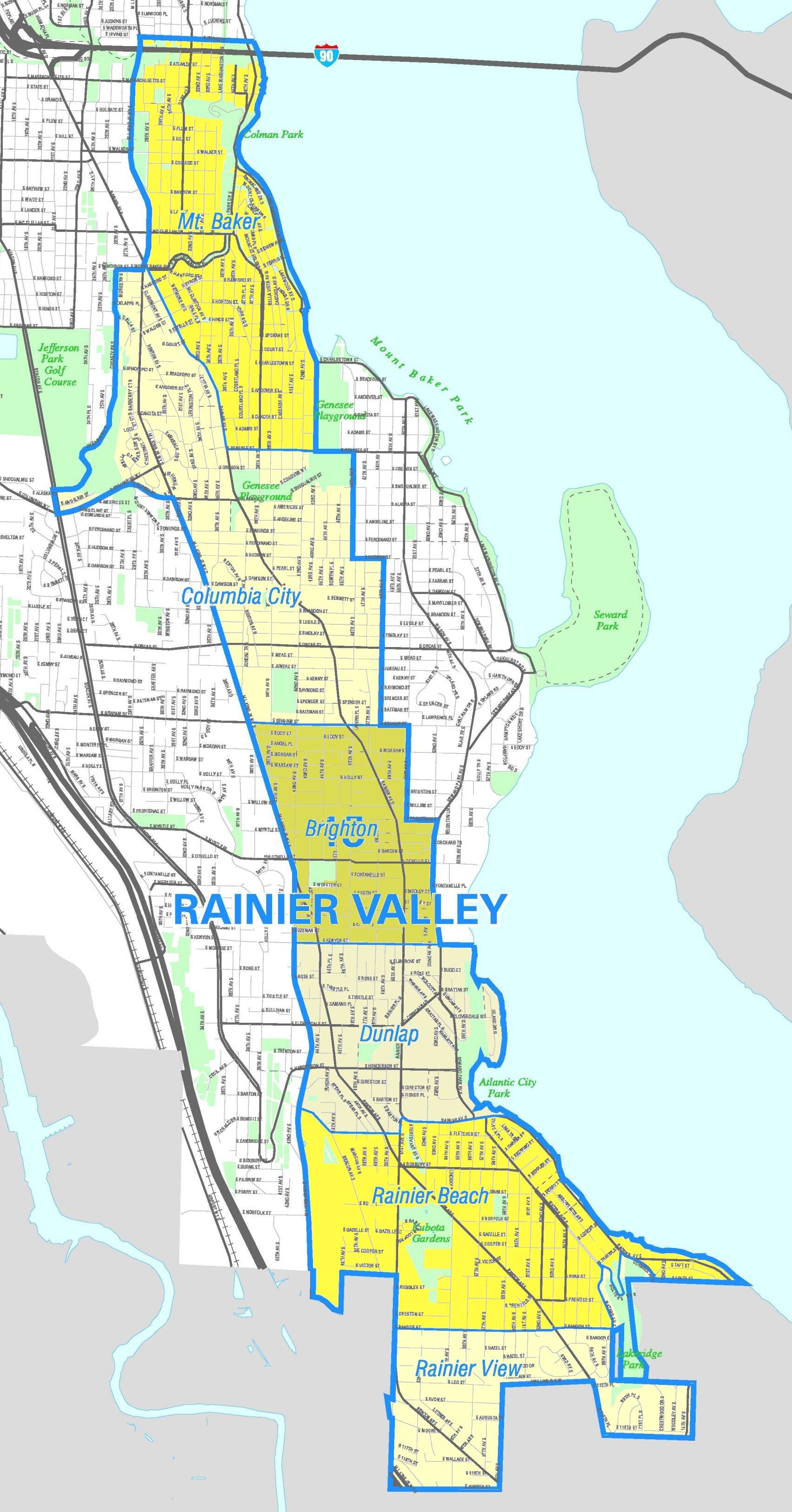 FileSeattle Rainier Valley mapjpg Wikimedia Commons