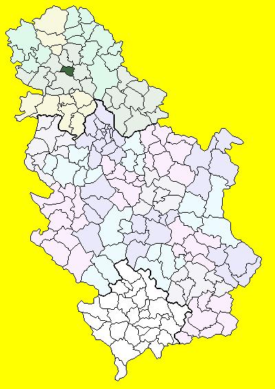 temerin mapa Temerin (općina) – Wikipedija temerin mapa
