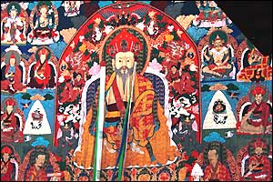 Zhabdrung Rinpoche title used when referring to or addressing great lamas in Tibet, particularly those who held a hereditary lineage
