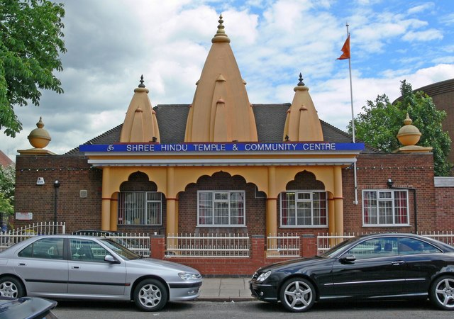 Shree Hindu Temple, St Barnabas Road - geograph.org.uk - 470789.jpg
