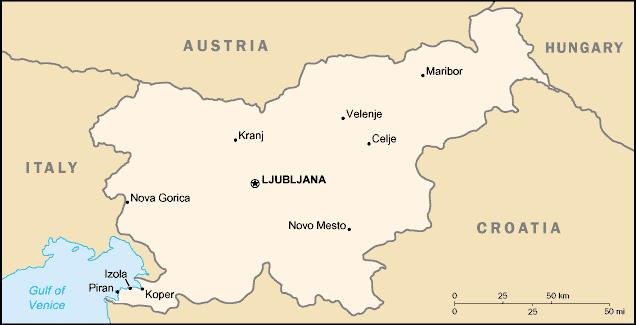 FileSloveniamapCIApng Wikimedia Commons - Slovenia map download