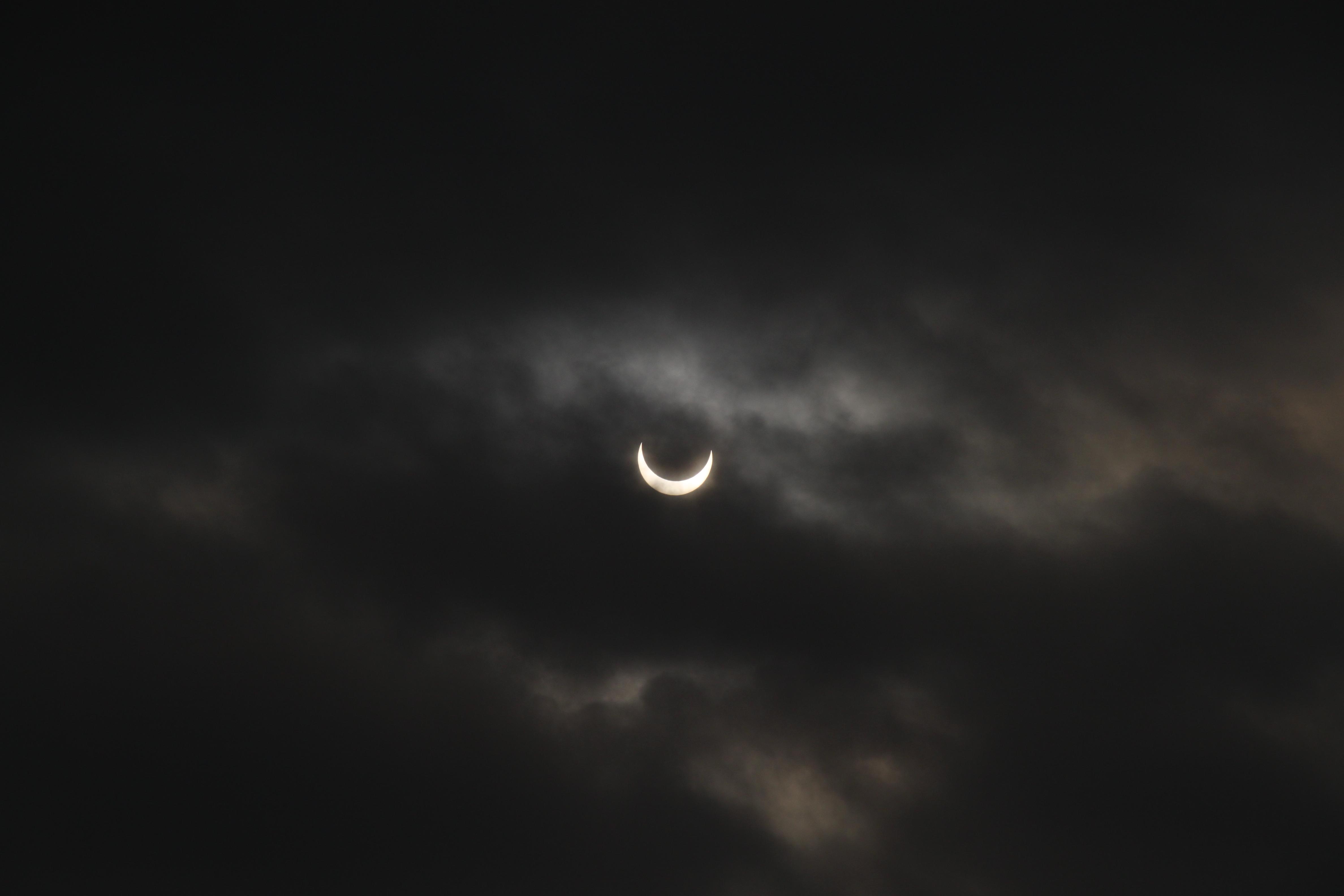 Solar Eclipse Nail Designs
