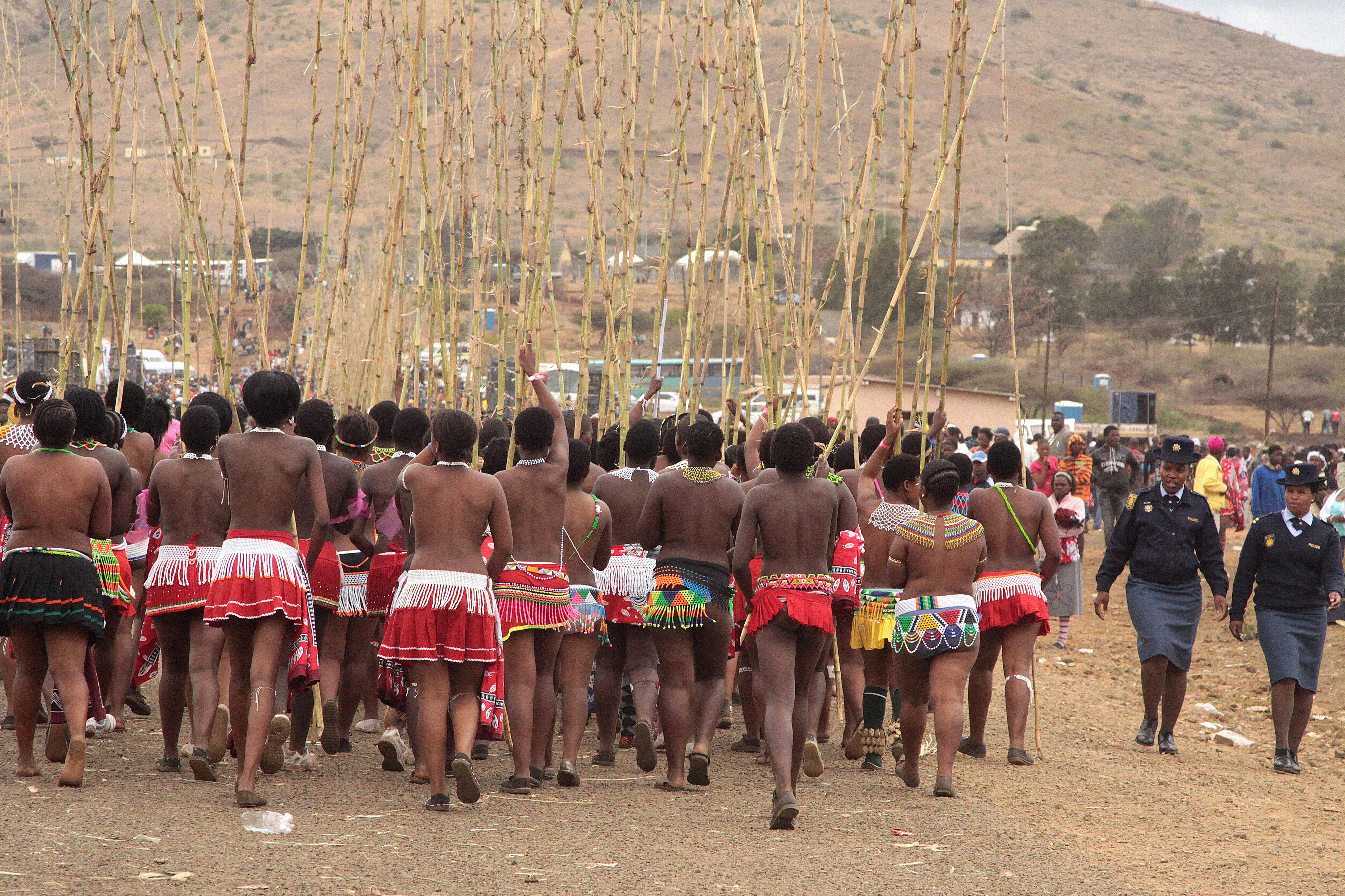 For that South african reed dance girls question