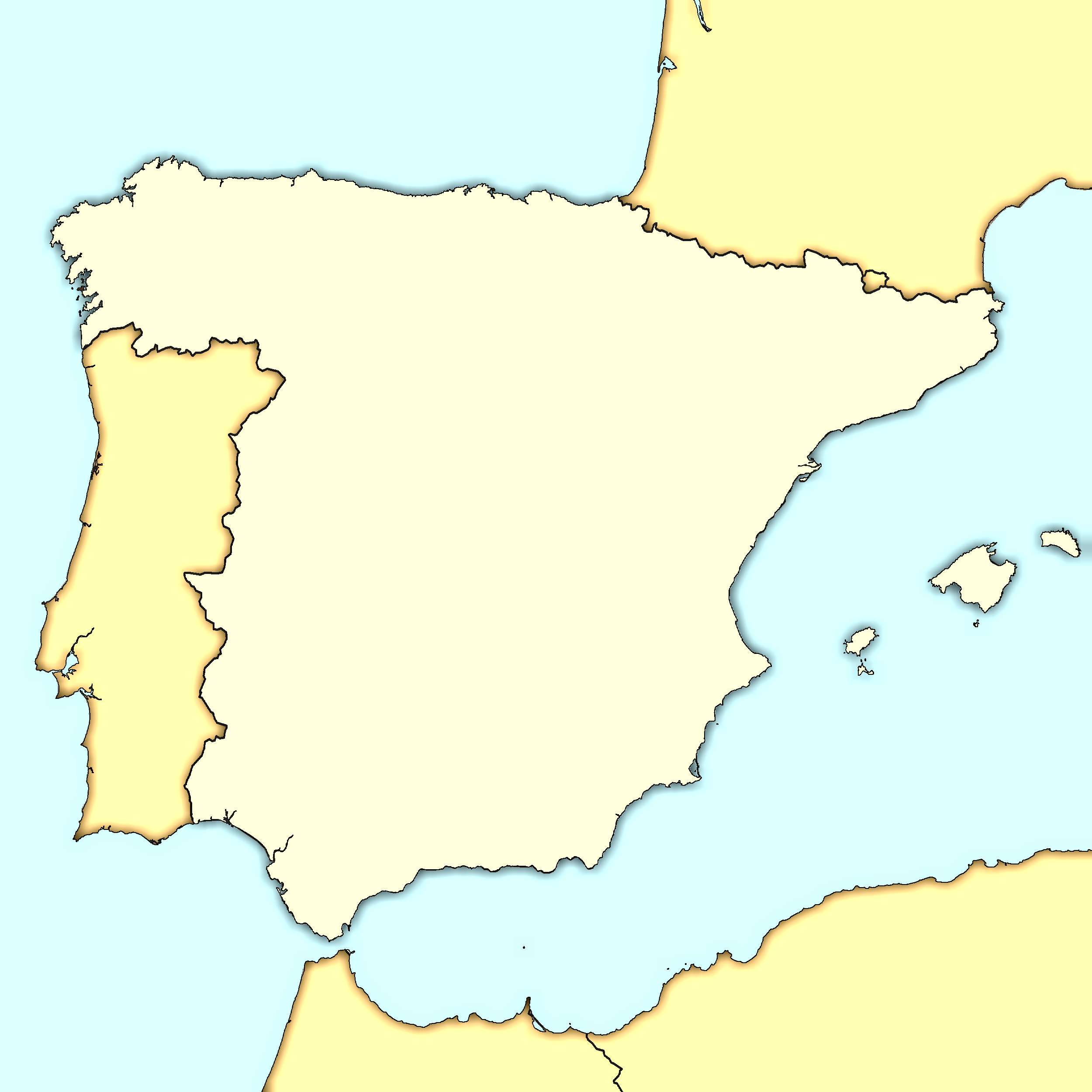 Blank Map Of Spain Regions.File Spain Map Modern Png Wikimedia Commons