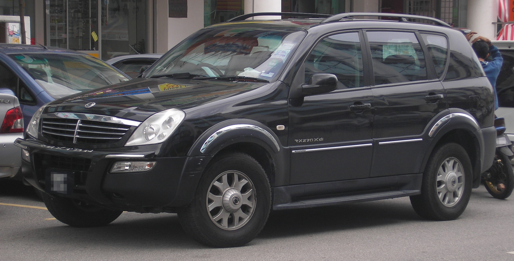 file ssangyong rexton first generation front wikimedia commons. Black Bedroom Furniture Sets. Home Design Ideas