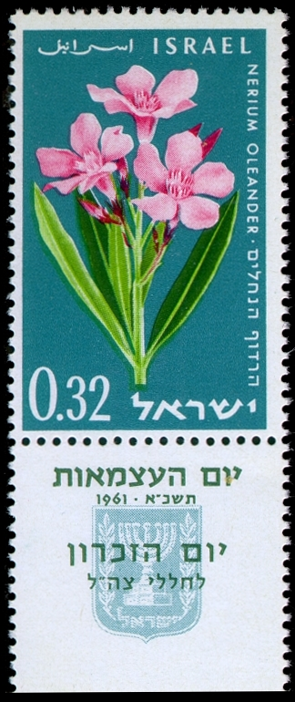 Stamp of Israel - Thirteenth Independence Day - 0.32IL.jpg