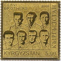 English: Stamp of Kyrgyzstan