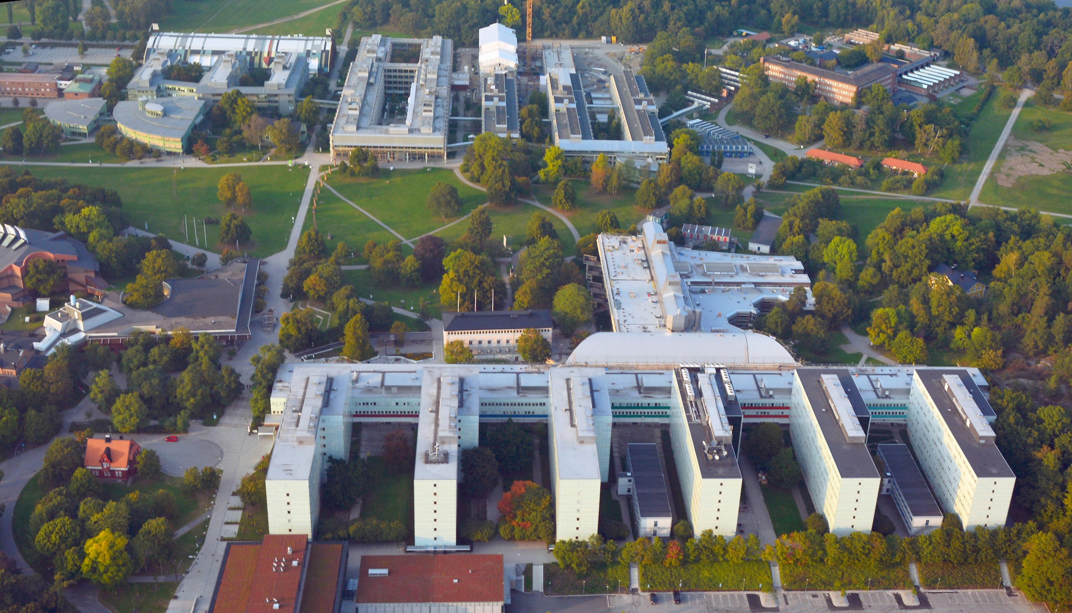 Filestockholms Universitet Flygfoto  Jpg