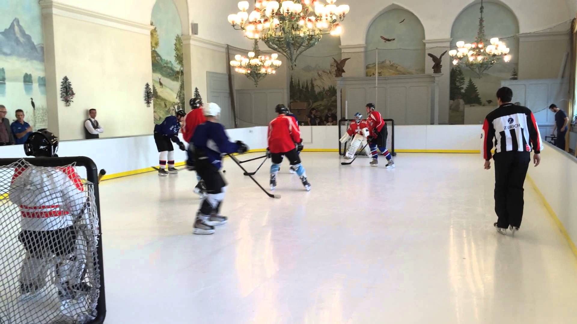 Are Synthetic Ice Tiles Like Hockey Tiles?