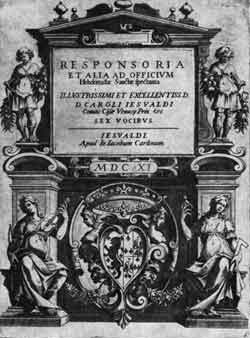 Image illustrative de l'article Tenebrae Responsoria (Carlo Gesualdo)