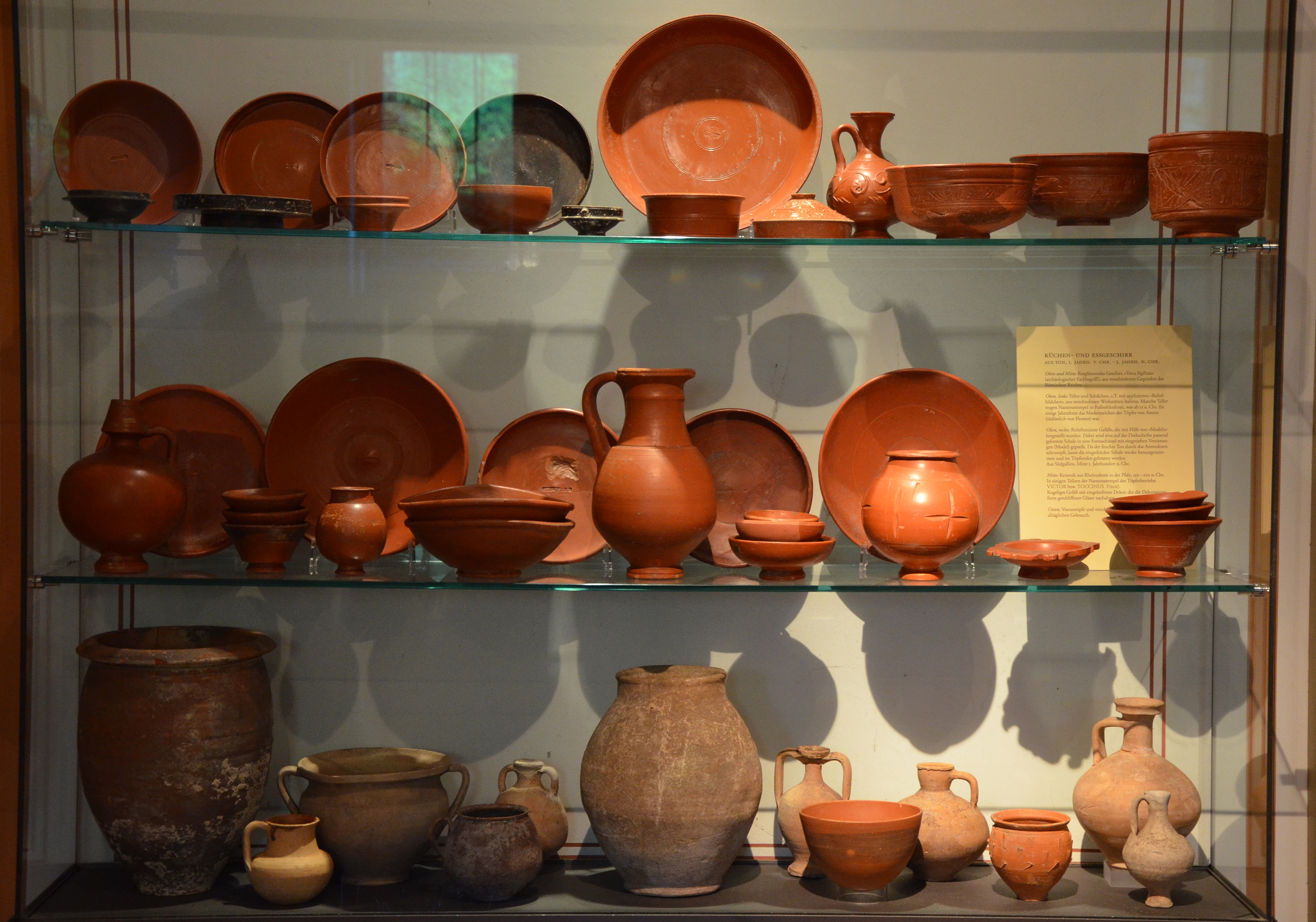 dating terra sigillata Van oyen, a (2015), the roman city as articulated through terra sigillata oxford journal of archaeology, 34: and the dating of neronian samian.