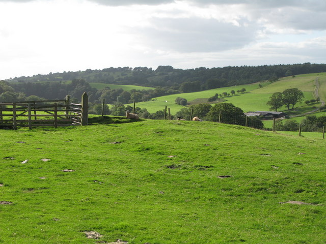The valley of the River Irthing near Chapelburn - geograph.org.uk - 1558824