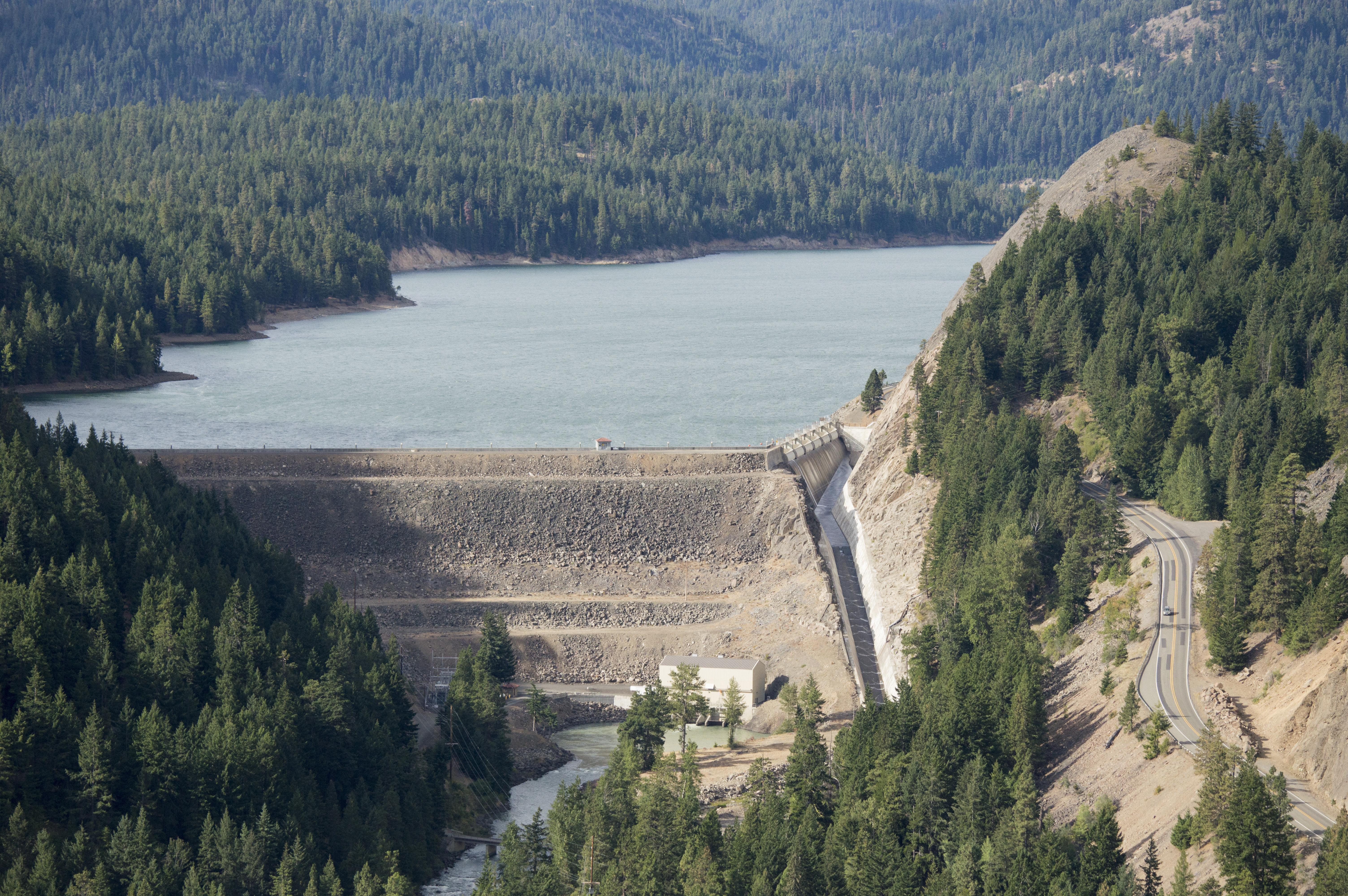 Tieton Dam - Wikipedia