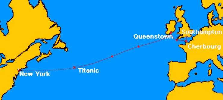 TitanicRoute