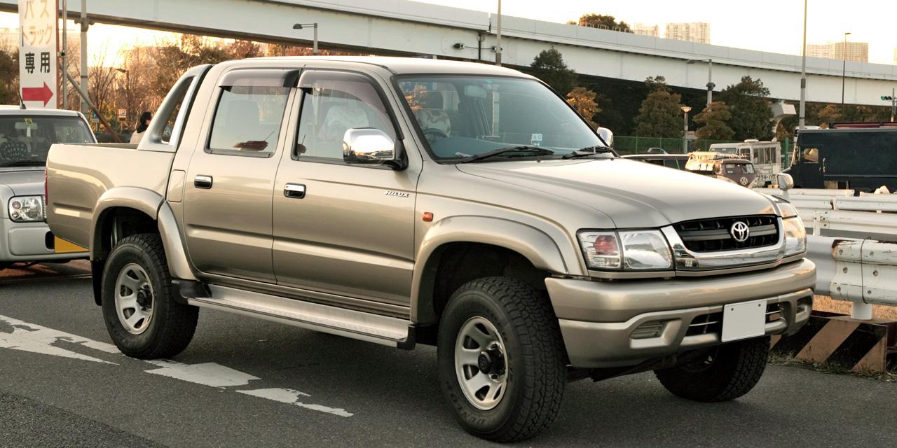 Toyota Hilux 1998 2005 Right Mirror Glass 250r Ebay