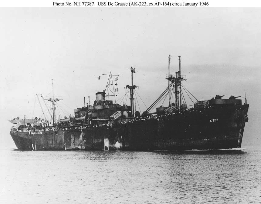 USS De Grasse (AK-223) - Wikipedia