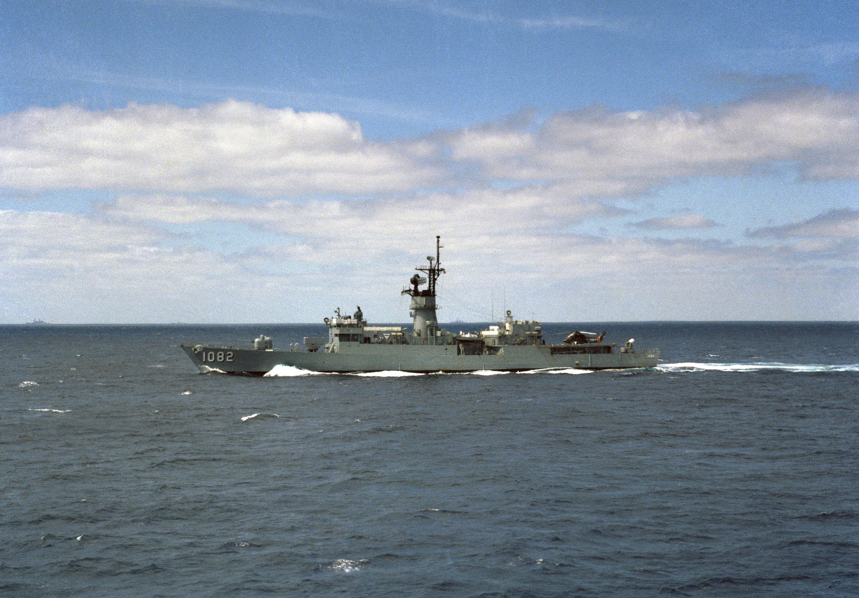 USS Elmer Montgomery (FF-1082)