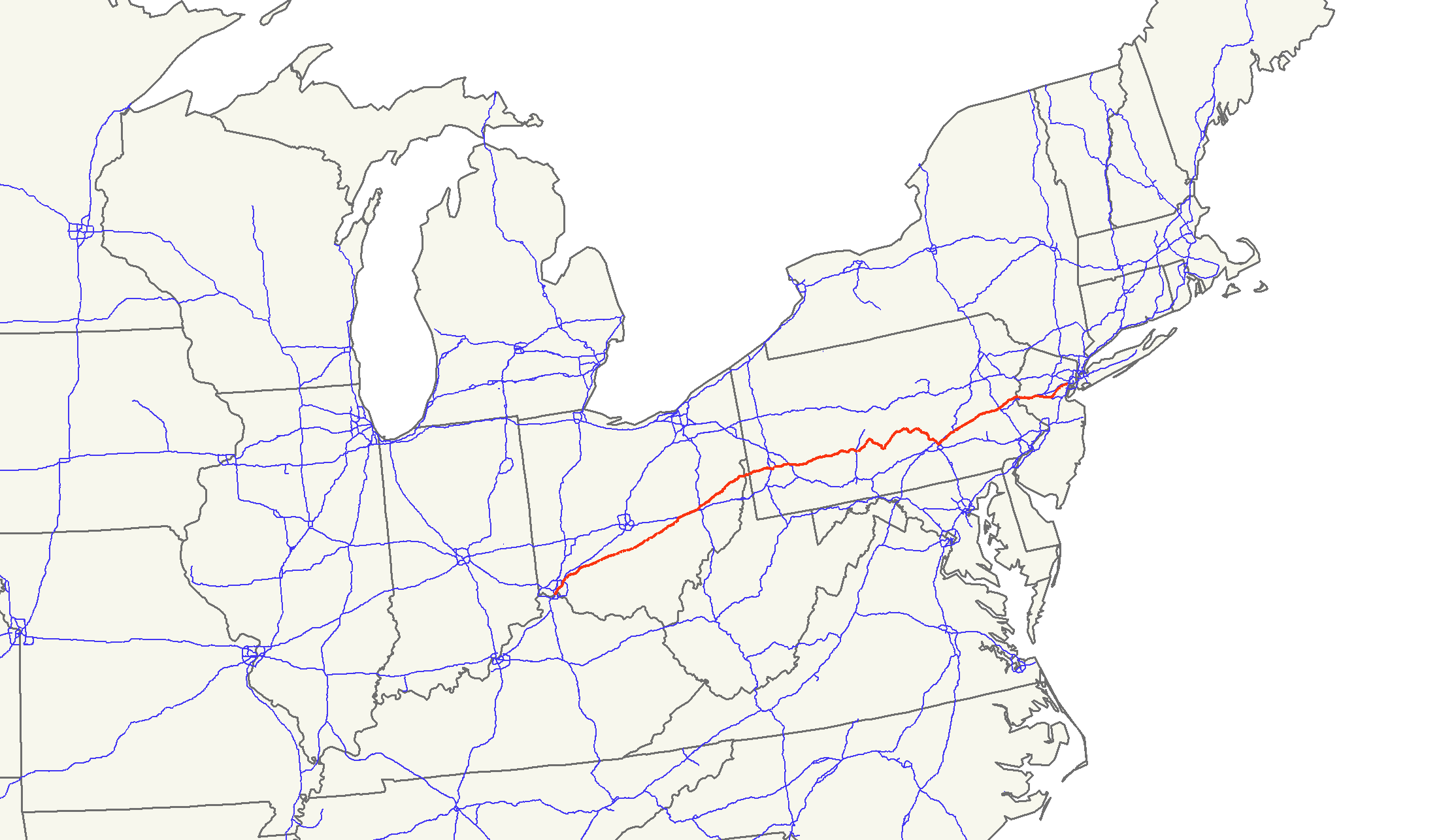 U.S. Route 22 - Wikipedia on route 91 map, route 15 map, route 8 map, route 9 map, route 33 map, route 80 map, route 20 map, freeway 22 map, route 5 map, route 44 map, route 11 map, route 1 map, route 27 map, route 6 map, route 23 map, route 12 map, n's castle map, route 18 map, route 2 map, route 17 map,