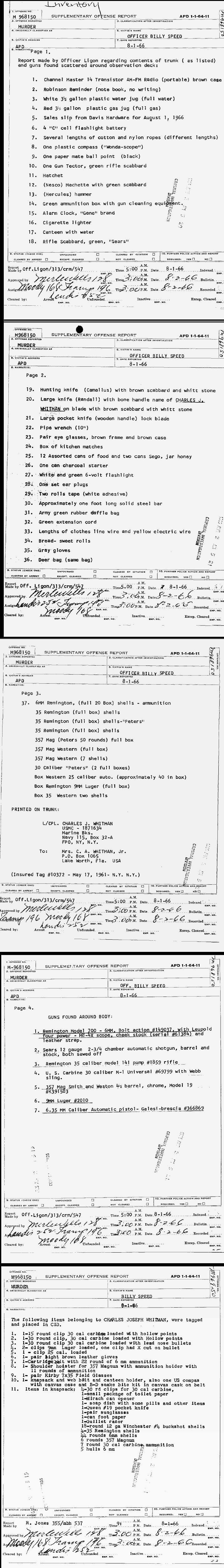 Table Of Contents Born august 30, 1982 (springfield, oregon). table of contents