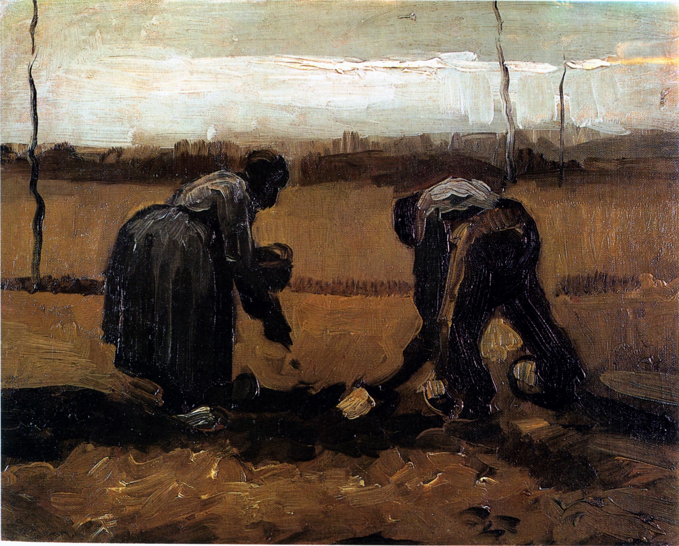 File:Vincent van Gogh - Peasant and Peasant
