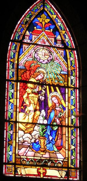 Vitrales de la Catedral de Bariloche