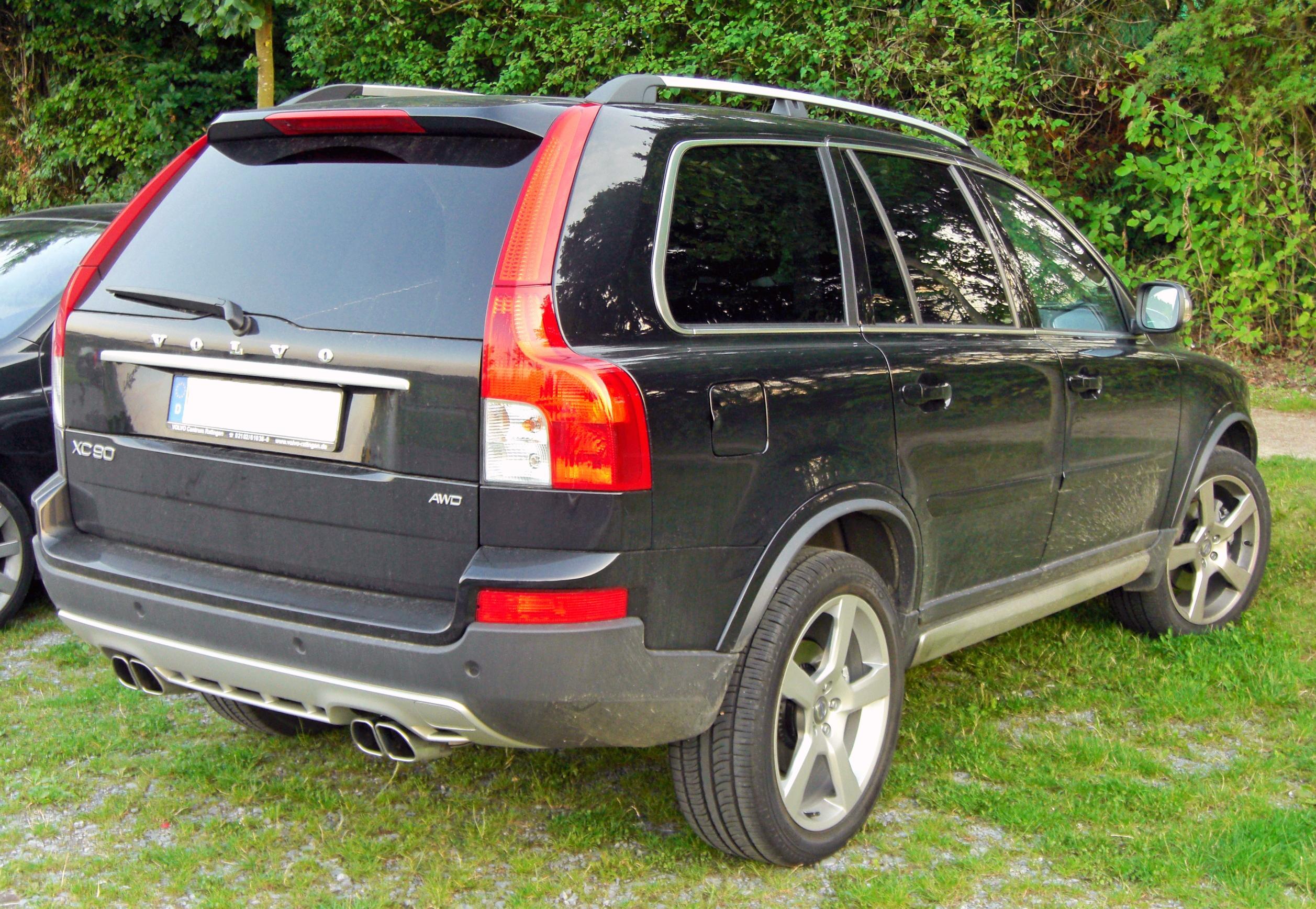 File Volvo Xc90 Facelift Edition R Design 20090803 Rear