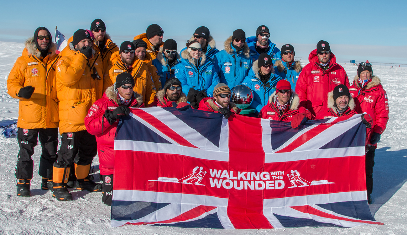 Call Of Duty Endowment Awards $30,000 To Major UK Charities Walking With the Wounded Challenge Arctic Trucks Support