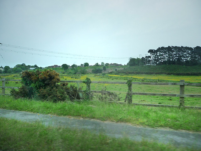 Wareham North Walls, and flood plain of the River Piddle - geograph.org.uk - 1327744