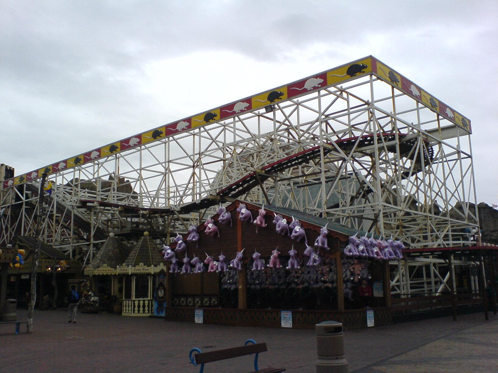 Very Blackpool pleasure beach wild mouse