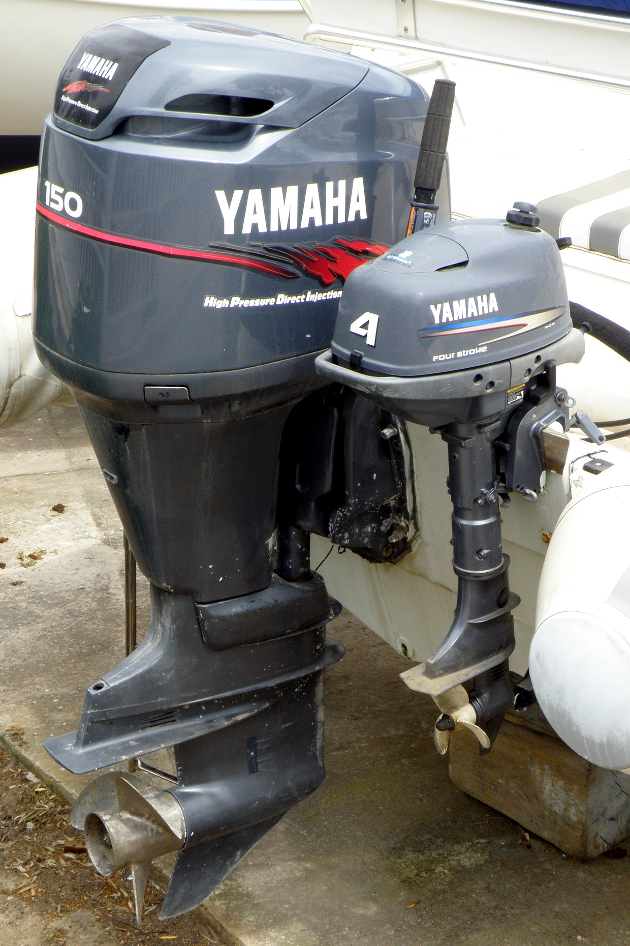 Yamaha Outboard F  Elrb Specs