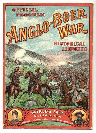 1904 worlds fair boer war program
