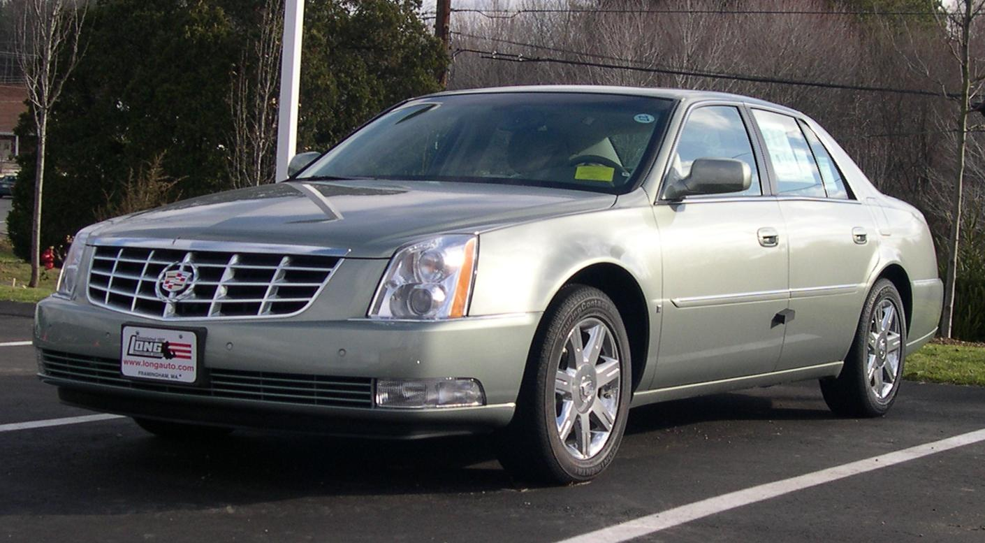 File:2006 Cadillac DTS.jpg - Wikimedia Commons