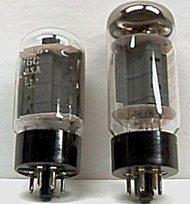 A pair of 6L6GC power valves, often used in American-made amplifiers 6L6tubespair.jpg