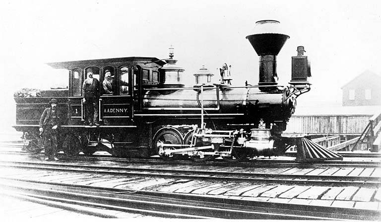 File:A.A. Denny, Seattle's first steam locomotive (5017555191).jpg