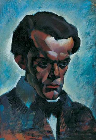 File:Aba-Novák Portrait of the Violinist Vilmos Ibrányi.jpg