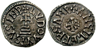 Depiction of Adelchis de Benevento