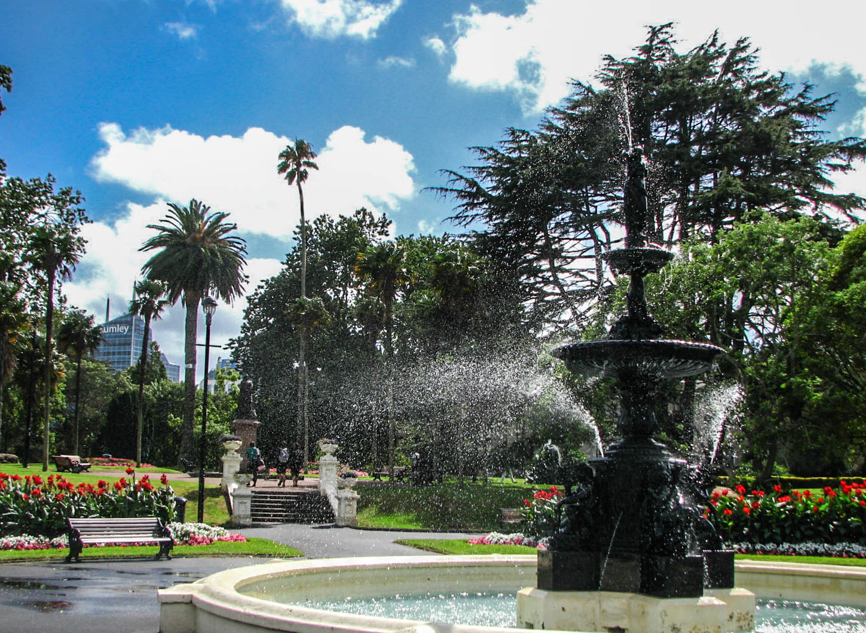 Water fountains auckland - File Albert Park Fountain Auckland Jpg