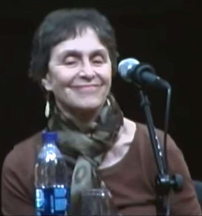 Shulman at discussion at [[Elizabeth A. Sackler Center for Feminist Art]] in 2010