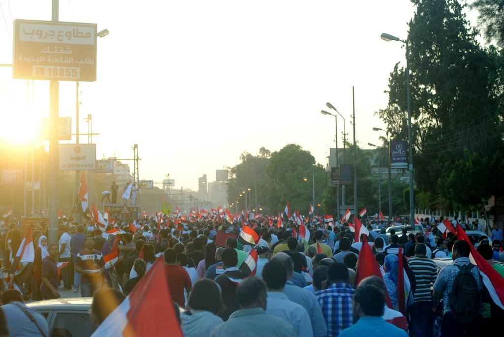 اكبر تجمع بشري فى التاريخ Anti_Morsi_protest_march_at_28th_June_2013