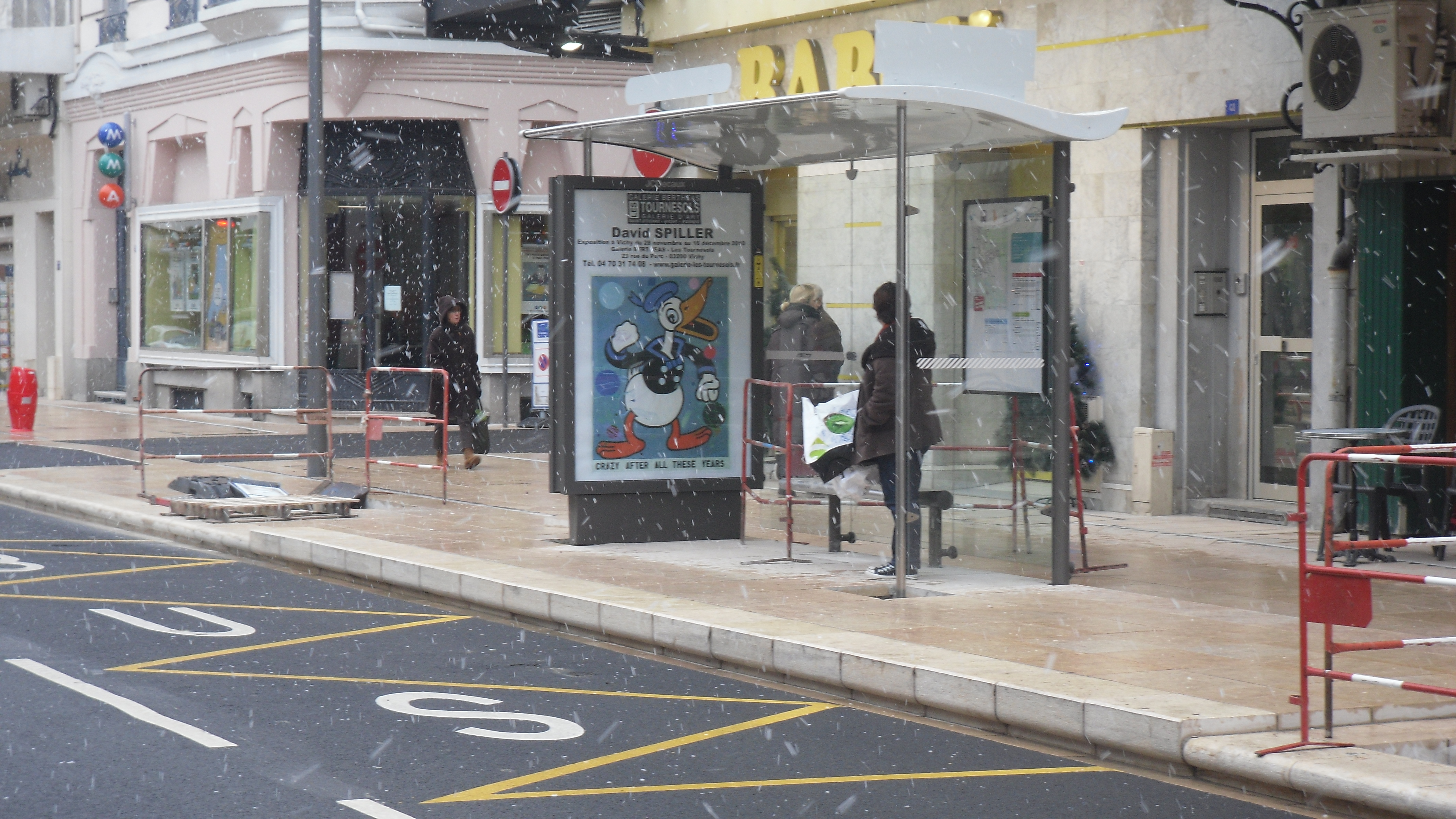 Arret De Bus Les Joncs Marins La Ville Du Bois